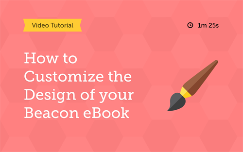 How to customize the design of your content marketing eBook