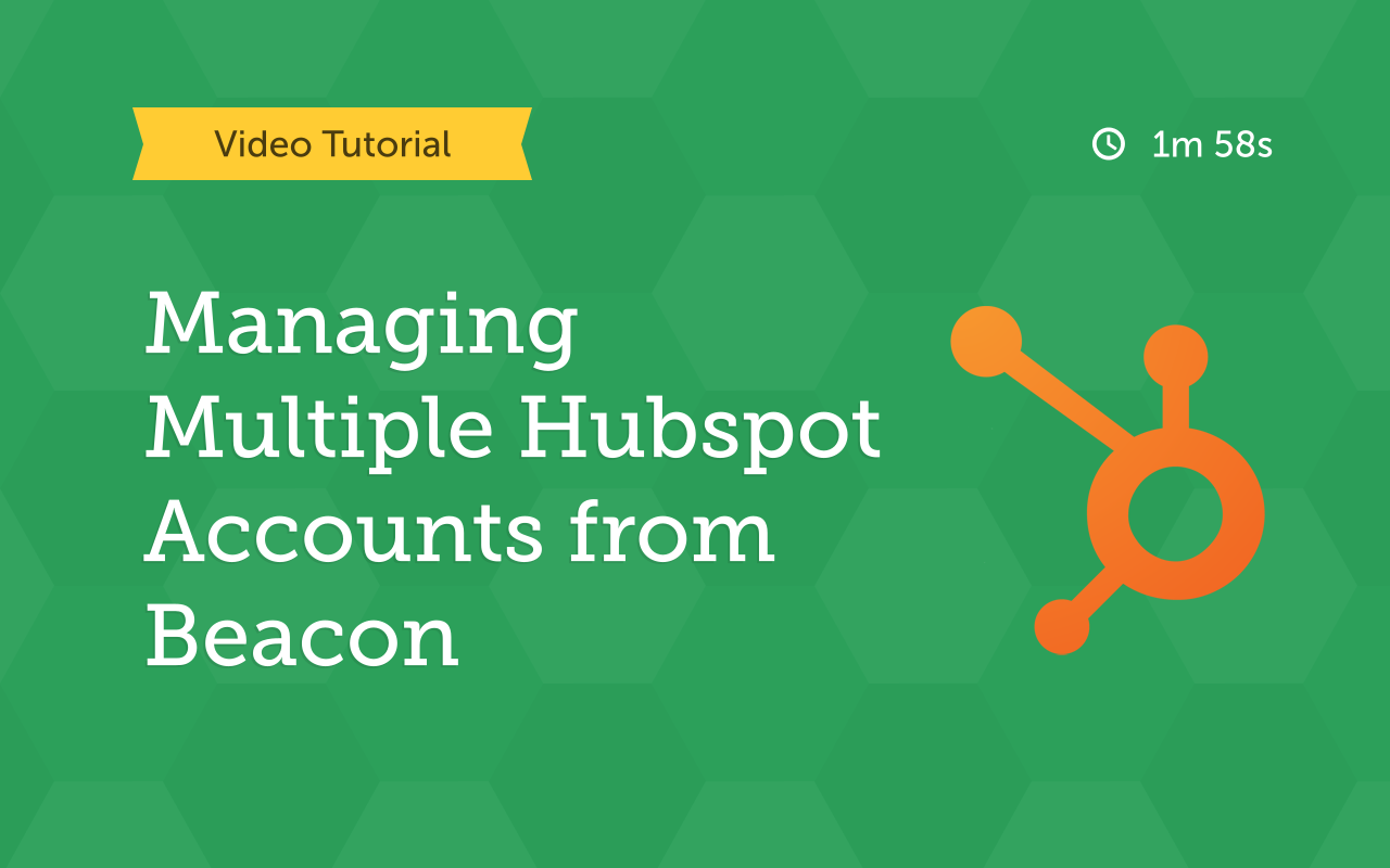 Managing multiple Hub IDs from Beacon