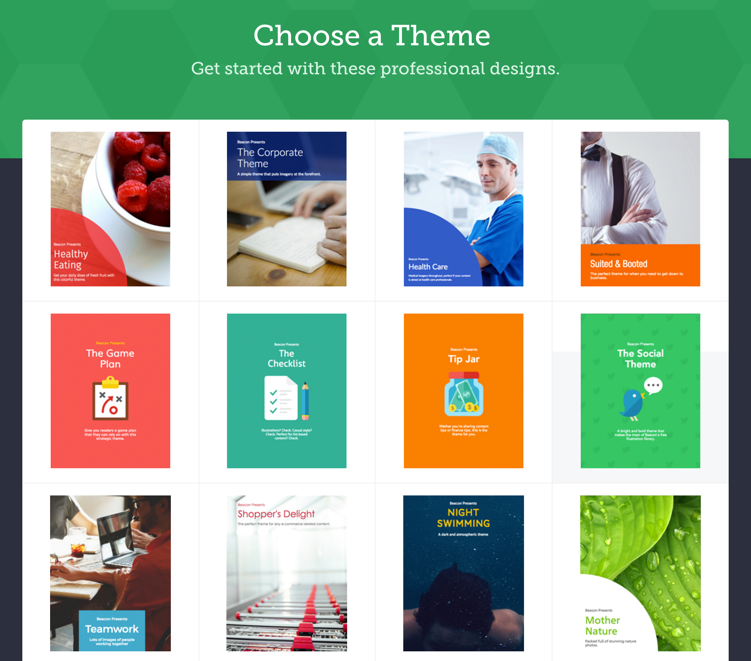 lead magnet template library
