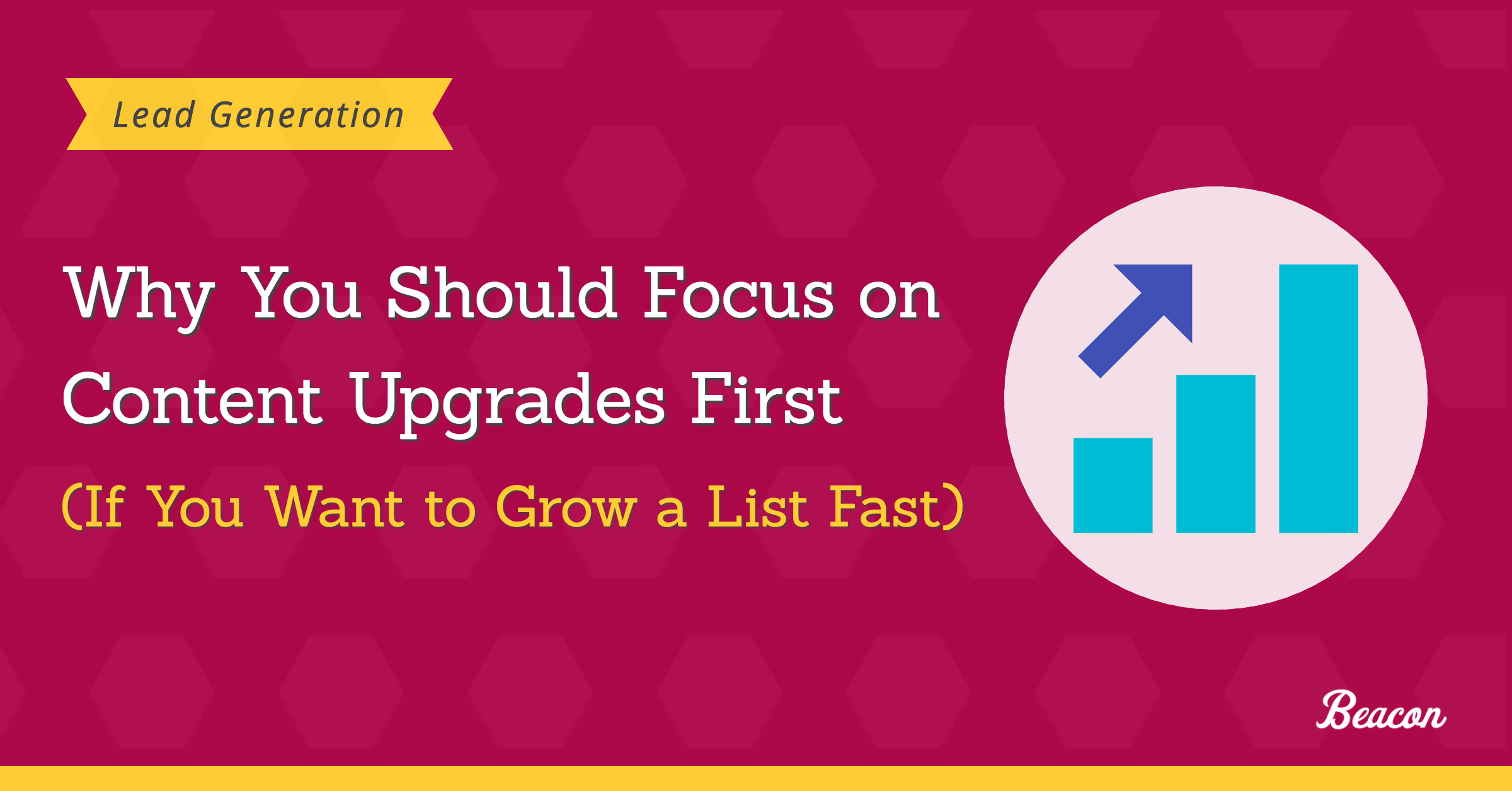 content upgrades grow list fast